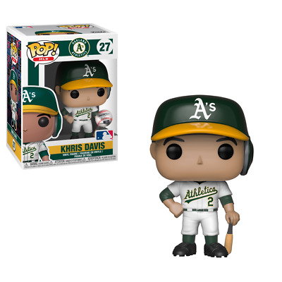 Funko Pop! MLB Khris Davis #27 Vinyl Figure Oakland Athletics