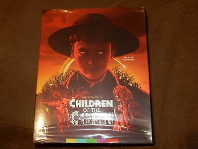 """Brand New & Sealed """"Children Of The Corn"""" Blu-Ray Arrow Video W/Oop Slipcover"""