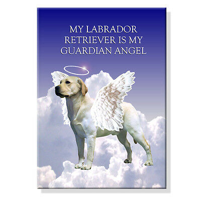 LABRADOR RETRIEVER Guardian Angel FRIDGE MAGNET New DOG