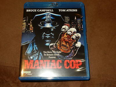 """Maniac Cop"" Blu-Ray Synapse Films Oop The Original Horror Classic"