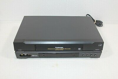 Toshiba W-522 VCR 4-Head Hi-Fi Stereo VHS Player Recorder Tested No Remote WORKS