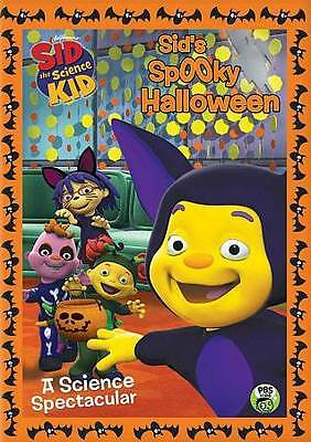 Pbs Kids Halloween Dvd.Sid The Science Kid Sid S Spooky Halloween A Science Spectacular Pbs