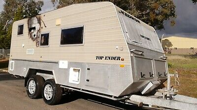 2007 Kedron Caravan Heavy Duty Off Road 4WD  Damaged Project *SEE VIDEO*