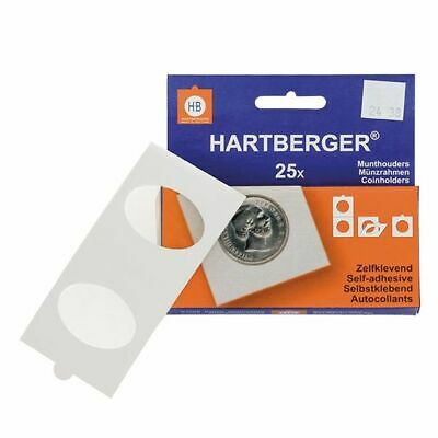Lindner 8320PP HARTBERGER Coin holders self adhesive for Pressed Pennies, pack o