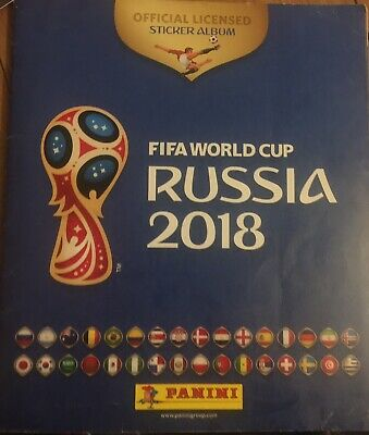 Lot De Stickers Panini Russie 2018 🇷🇺🇷🇺