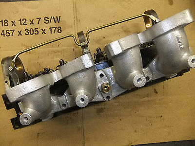 Ford Pinto inlet manifold to 44/48 IDF carbs