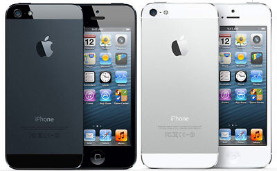 Apple iPhone 5 16/32GB AT&T T-Mobile GSM Unlocked Black White 4G LTE Smartphone