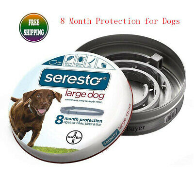Bayer Seresto² Flea and Tick Collar for Large Dog Long-Term Continue Protection