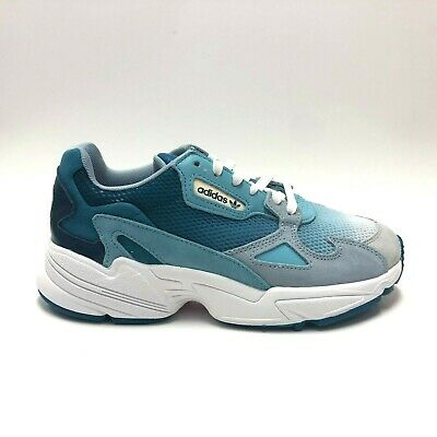 ADIDAS ORIGINALS FALCON Womens Blue Tint Casual Lifestyle