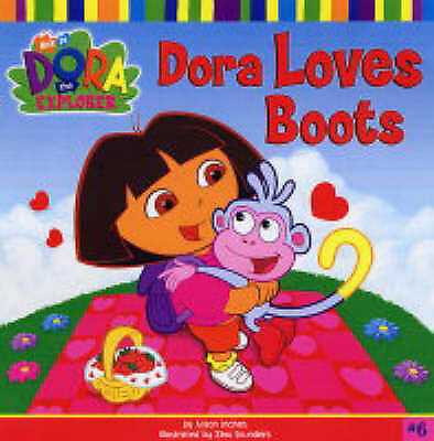 Dora Loves Boots Book