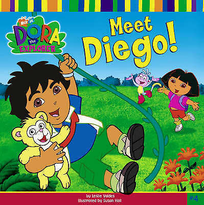 Dora The Explorer Meet Diego Book