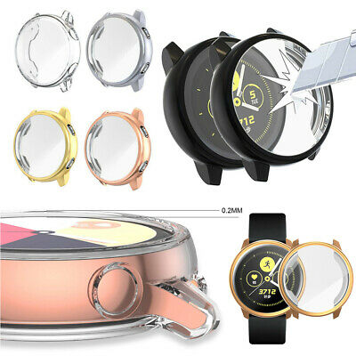 Protective  Watch TPU Case Screen Cover Film For Samsung Galaxy Watch Active