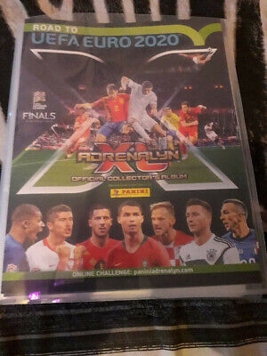 PANINI ADRENALYN XL Road to UEFA EURO 2020 Lot de 225 cartes Team mates complet
