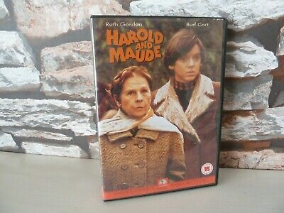 classic HAROLD and MAUDE DVD. FAST/FREE POSTING