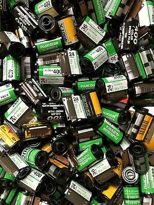 Lot 15 EMPTY 35mm FILM ROLLS Canisters Assorted Brands