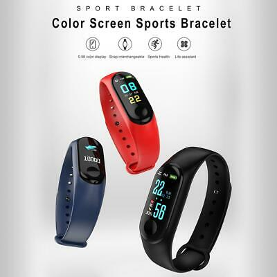Smart Watch Bracelet Fitness Activity Tracker Blood Pressure Heart Rate BT4.0 M3