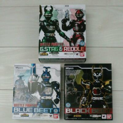 Figuarts Jyukou B-Fighter G Stag /& Reddle Set Action Figure Bandai S.H