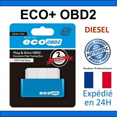 1x ECO OBD2 Chip Tuning Box Plug & Drive Fuel Saved Emission for DIESEL Cars