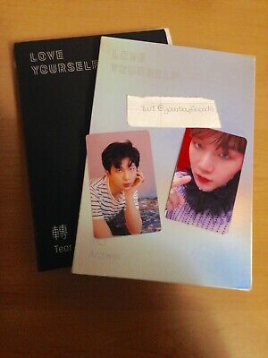 RM Official Photocard BTS Love Yourself Tear O Version Fake Love Kpop