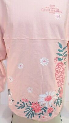 Disney Parks 2019 Epcot Flower & Garden Minnie Spirit Jersey Garden Party NWT La
