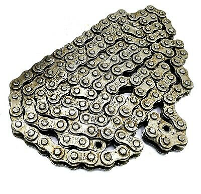 No Rust Moped Motorized Bike Chain 415H Nickel Plate Master Link