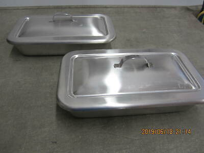 2 x Medical Instrument Trays Military Surplus Excellent 8.5 x 4.5
