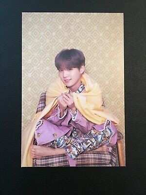 BTS Map of the Soul: Persona Official Photocard/Postcard SUGA authentic yoongi