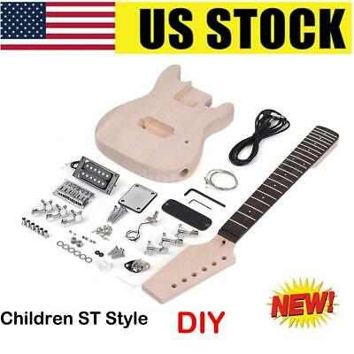 Ammoon Solid Wood Electric Bass Guitar Includes Strap Guitar + Cable+Wrench S6I9
