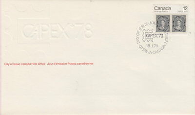 CANADA 1978 FDC CAPEX 1/2 Pence Queen Victoria Postage Stamp