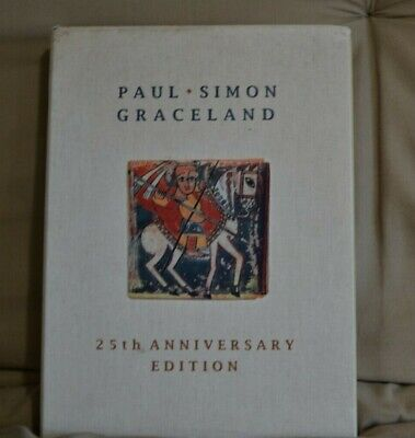 Graceland [25th Anniversary Deluxe Collector's] Paul Simon (3CD + 2DVD, 2012)