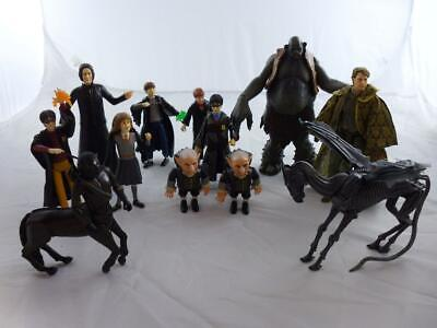 Job Lot of Harry Potter Figures including Lockheart, Troll, Goblins and Thestral