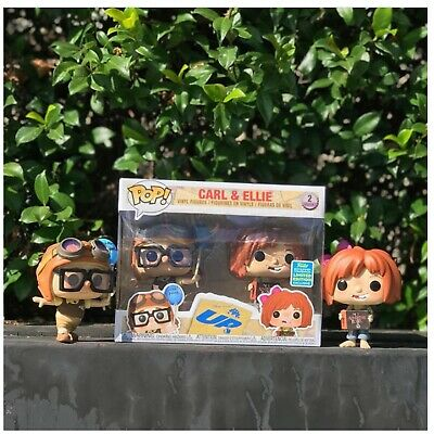 Funko Pop Carl & Ellie SDCC 2019 SHARED Exclusive UP In Hand Ready To Ship