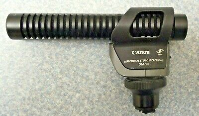 Canon 2591B002 DM-100 Directional Stereo Microphone for HF//HG Series Camcorders