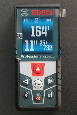 "Bosch GLM 50 CX ""Blaze"", 165' Bluetooth Laser Distance Measurer, New"