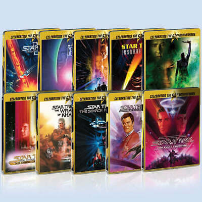 Star Trek Limited Edition Steelbook Collection Blu-ray
