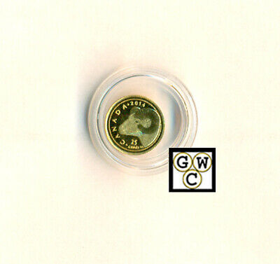 2014 'Rocky Mountain Bighorn Sheep' Proof 25Ct Gold Coin .9999 Fine(13280)OOAK