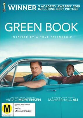 Green Book (Dvd) [Non-Usa Format] (Pal Region 4) Sealed