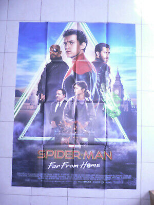 AFFICHE CINEMA 120 x 160 -  SPIDERMAN...Far from home