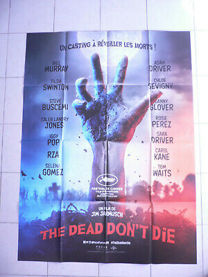 AFFICHE CINEMA 120 x 160 -  THE DEAD DON'T DIE...