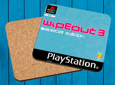 Wipe Out 3 Special Edition Playstation Psx Posavasos Madera Wooden Coasters