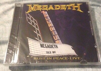 Rust in Peace... Live by Megadeth (CD, Aug-2010, Shout! Factory, Dave Mustaine)