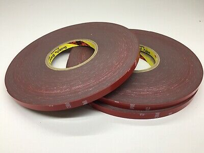 3M 4229P DOUBLE SIDED ADHESIVE  Hi Temp Acrylic Form Tape 10mm x 33M