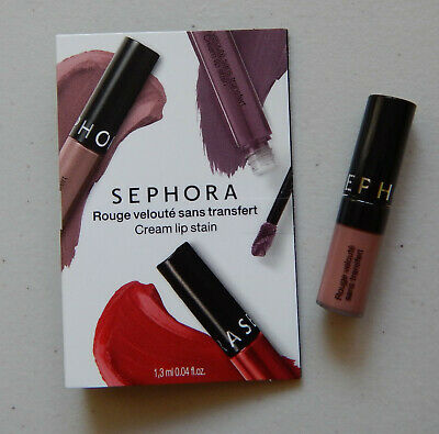 New Sephora Cream Lip Stain 40 Pink Tea 1.3 ml 0.04fl oz Made in Italy