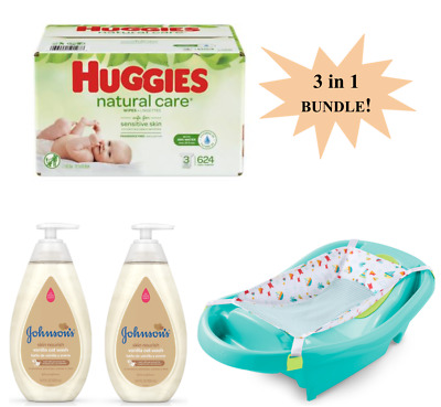 Huggies Baby Wipes Natural Care (624)