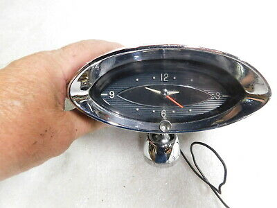 1961 Olds dash clock