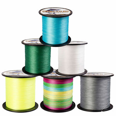 Hercules 328 547 1094Yards Super 10-300LB 4 Strands PE Test Braided Fishing Line