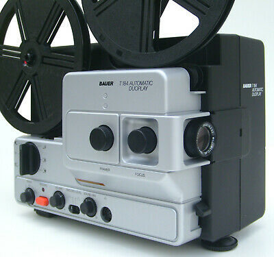 Super 8mm Sound Film Projector Bauer T 184 Automatic Duoplay