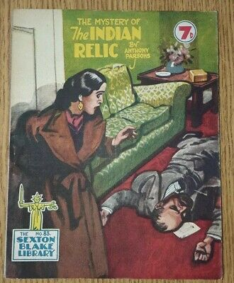Sexton Blake Library 3rd Series No 83 comic magazine war crime thriller vintage