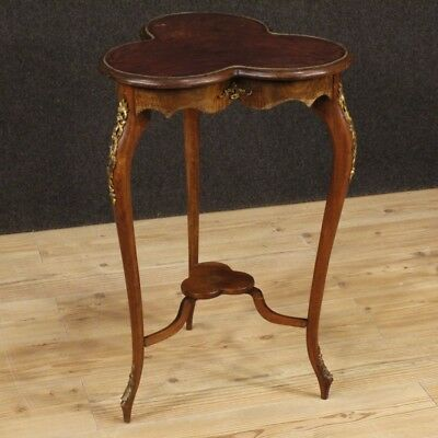 Small Table French Furniture Bedside Wooden Mahogany Antique Style Living Room