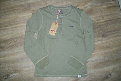 Lee Cooper-boys khaki green cotton top.8 y(128 cm).BNWT.RRP 20 £